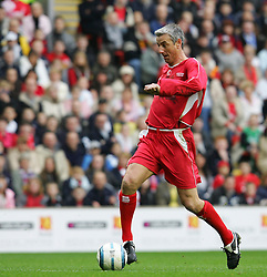 LIVERPOOL, ENGLAND - SUNDAY MARCH 27th 2005: Liverpool Legends' Ian Rush in action against the Celebrity XI during the Tsunami Soccer Aid match at Anfield. (Pic by David Rawcliffe/Propaganda)