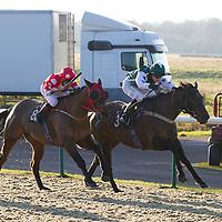 Basle and Richard Kingscote winning the 1.00 race