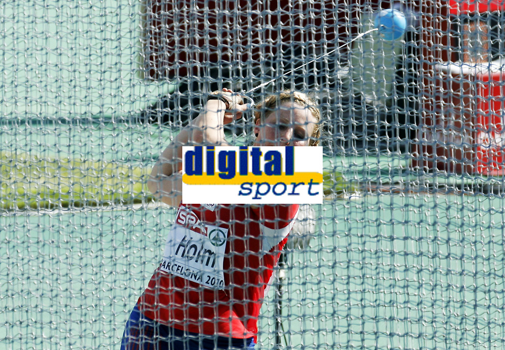 Friidrett, 28. juli  2010 ,<br /> EM Barcelona<br /> <br /> European Athletics Championships<br /> Barcelona<br /> <br /> Mona Holm , Norge i slegge<br /> <br /> Foto: Anders Hoven , Digitalsport