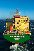 AAL Melbourne arriving in Saldanha with parts for the Sere Wind Farm