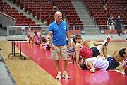 Danzica - Polonia 03 Agosto 2012 - Nazionale Italia Maschile Allenamento - <br /> Nella Foto : LUCA DALMONTE<br /> Foto Ciamillo