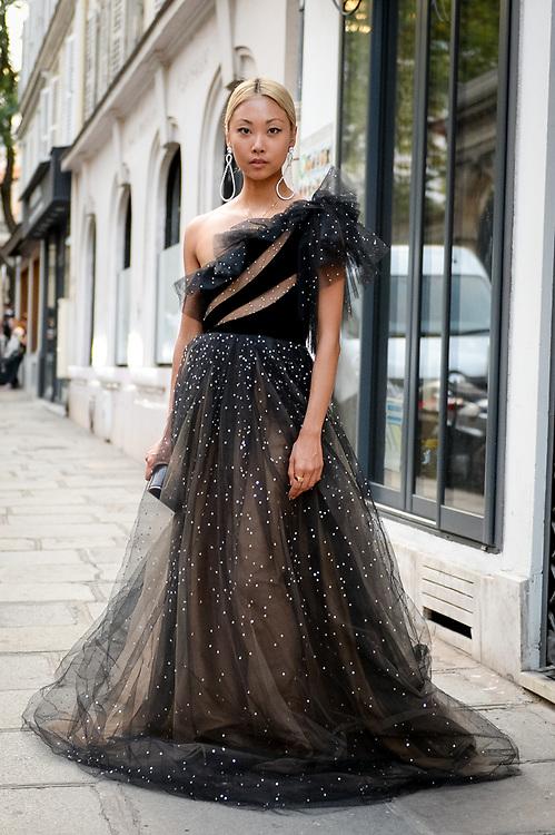 Vanessa Hong at Valentino Couture FW2018