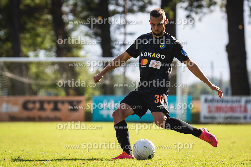 Almin Kurtovič of Bravo during football match between ND Beltinci and NK Bravo in 1st Round of Pokal Slovenije 2020/21, on September 23, 2020 in Športni park Beltinic, Slovenia. Photo by Blaž Weindorfer / Sportida