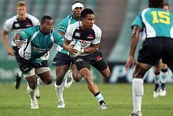 Afa Pakalani. NSW Waratahs v Fiji. Investec Super Rugby Preseason match, 04 February 2011 SYdney Football Stadium, Australia. Photo: Clay Cross / photosport.co.nz