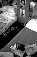 Roma Giugno 2000.Carcere di Rebibbia N.C..L'interno di una cella..Rome June 2000.Prison Rebibbia N.C..The inside of a celll.