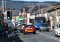 © Licensed to London News Pictures. 17/09/2020. Rhondda Valley, UK.A general view of the former mining town of Treorchy in the Rhondda Valley which will go into local lockdown today after a spike in the coronavirus infection rate in the borough of Rhondda Cynon Taff in south Wales.. Photo credit: Robert Melen/LNP