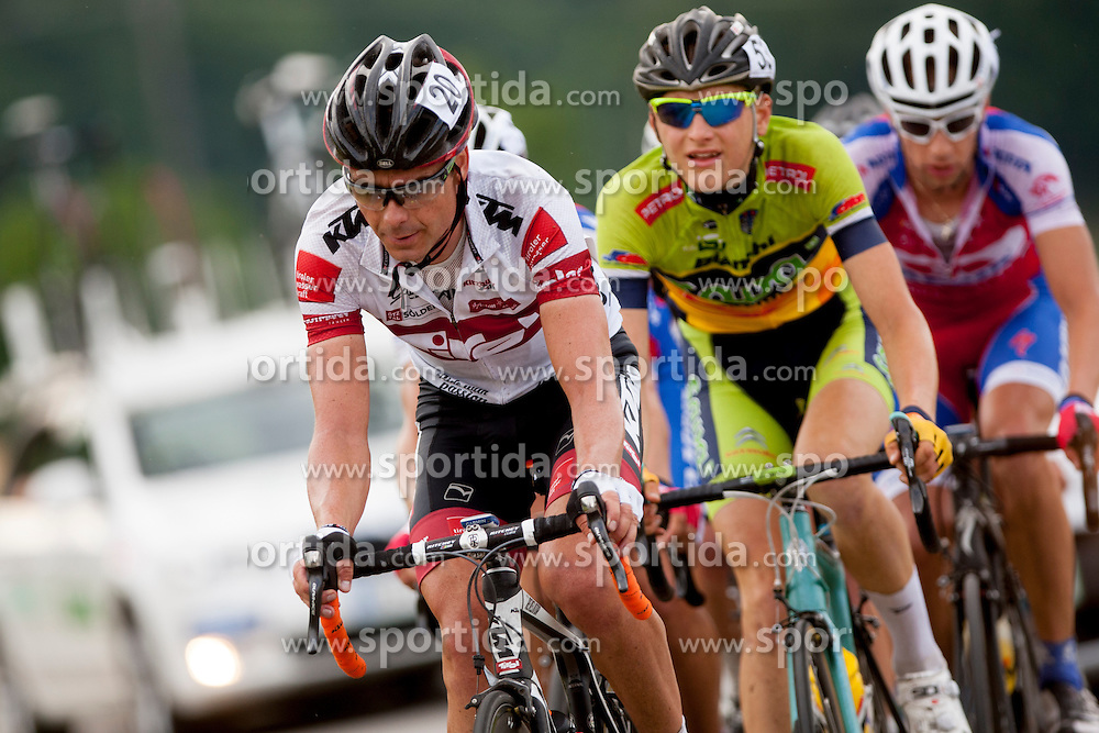 Jure Golcer of Tyrol Cycling Team during Slovenian National Championship in Road Cycling, on June 23, 2013, in Gabrje, Slovenia. (Photo by Urban Urbanc / Sportida.com)