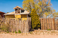 The Pueblo de Abiquiu Plaza, Abiquiu, New Mexico, house