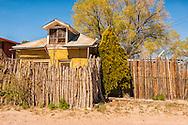 The Pueblo de Abiquiu Plaza, Abiquiu, New Mexico, house