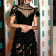 Stacy Martin Arrivers at EE British Academy Film Awards in 2019 after-party dinner at Grosvenor house on 10 Feb 2019.