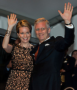 King Philippe and Queen Mathilde at the National Ball on July 20th