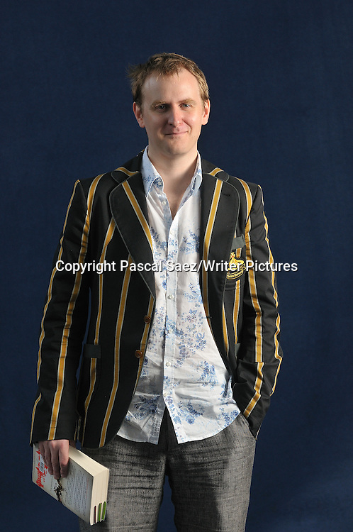Nick Harkaway at The Edinburgh International Book Festival 2008<br />