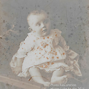 Photo Restoration - severe damage