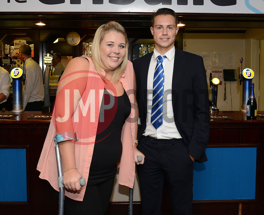 Man of the match presentation - Mandatory byline: Dougie Allward/JMP - 07966 386802 - 24/10/2015 - FOOTBALL - Memorial Stadium - Bristol, England - Bristol Rovers v Newport County AFC - Sky Bet League Two