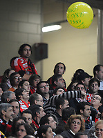 20091122: LISBON, PORTUGAL - SL Benfica vs Guimaraes: Portuguese Cup 2009/2010. In picture: Benfica pay homage to former goalkeeper Robert Enke, who died two weeks ago / balloon. PHOTO: Alexandre Pona/CITYFILES