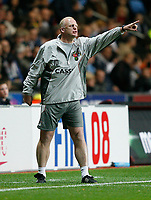 Photo: Steve Bond.<br /> Coventry City v West Ham United. Carling Cup. 30/10/2007. Iain Dowie on the touchline