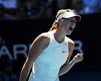 Australian Open  26/01/2008<br />Maria Sharapova (RUS ) wins Ladies Singles Title 7-5 6-3<br />Photo Anne Parker Fotosports International