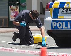 Hamilton-Police cordon after suspicious package on Davies Corner