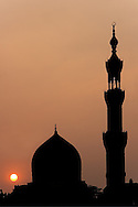Mosque in the city of Cairo (Egypt)