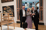 HANS RAUSING, JULIA RAUSING, CHRISTOPHER LE BRUN, 2019 Royal Academy Annual dinner, Piccadilly, London.  3 June 2019