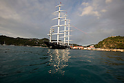 Maltese Falcon at the St. Barth Bucket