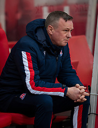 STOKE-ON-TRENT, ENGLAND - Saturday, January 25, 2020: Stoke City's manager Michael O'Neill during the Football League Championship match between Stoke City FC and Swansea City FC at the Britannia Stadium. (Pic by David Rawcliffe/Propaganda)