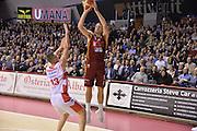 Michael Bramos<br /> Venezia 12 Febbraio 2017 -<br /> Campionato Basket Lega A <br /> Umana Reyer Venezia vs Grissin Bon Reggio Emilia<br /> Foto Ciamillo/Michele Gregolin