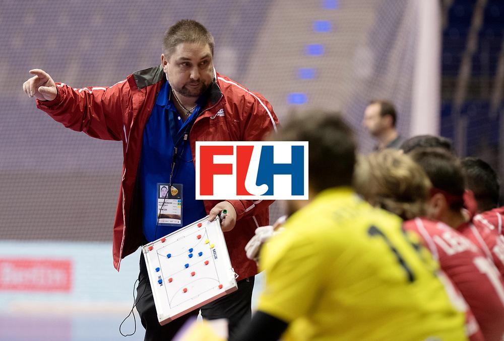 BERLIN - Indoor Hockey World Cup<br /> Women: Czech Republic - Germany <br /> foto: TRONIČEK Petr.<br /> WORLDSPORTPICS COPYRIGHT FRANK UIJLENBROEK