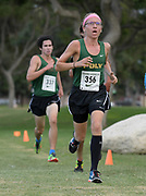Nov 1, 2017; Long Beach, CA, USA; Thomas Fleming of Long Beach Poly places fourth in 15:23 during the Moore League cross country finals at Heartwell Park.