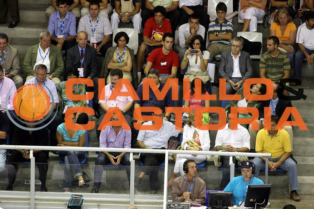 DESCRIZIONE : Alicante Spagna Spain Eurobasket Men 2007 Slovenia Francia Slovenia France <br />GIOCATORE : Vip<br />SQUADRA : <br />EVENTO : Eurobasket Men 2007 Campionati Europei Uomini 2007 <br />GARA : Slovenia Francia Slovenia France <br />DATA : 05/09/2007 <br />CATEGORIA : Ritratto<br />SPORT : Pallacanestro <br />AUTORE : Ciamillo&amp;Castoria/G.Ciamillo<br />Galleria : Eurobasket Men 2007 <br />Fotonotizia : Alicante Spagna Spain Eurobasket Men 2007 Slovenia Francia Slovenia France <br />Predefinita :