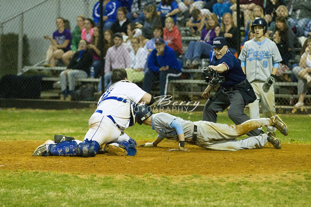 March/19/12:  MCHS Varsity Baseball vs Page.  Madison loses to Page 8-4 in 8 innings.