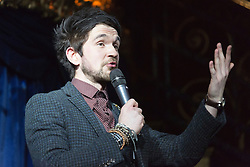 © Licensed to London News Pictures. 03/09/2015. London, UK. Mind reader Colin Cloud. Press preview of the new magic show The Illusionists at Café de Paris, London. The touring magic show will open at London's Shaftesbury Theatre on 14 November 2015. Photo credit : Bettina Strenske/LNP