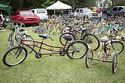 Louisiana Bicycle Festival in Abita Springs on June 17, 2017