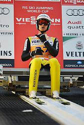 21.11.2014, Vogtland Arena, Klingenthal, GER, FIS Weltcup Ski Sprung, Klingenthal, Herren, HS 140, Qualifikation, im Bild Gregor Deschwanden (SUI) // during the mens HS 140 qualification of FIS Ski jumping World Cup at the Vogtland Arena in Klingenthal, Germany on 2014/11/21. EXPA Pictures © 2014, PhotoCredit: EXPA/ Eibner-Pressefoto/ Harzer<br /> <br /> *****ATTENTION - OUT of GER*****