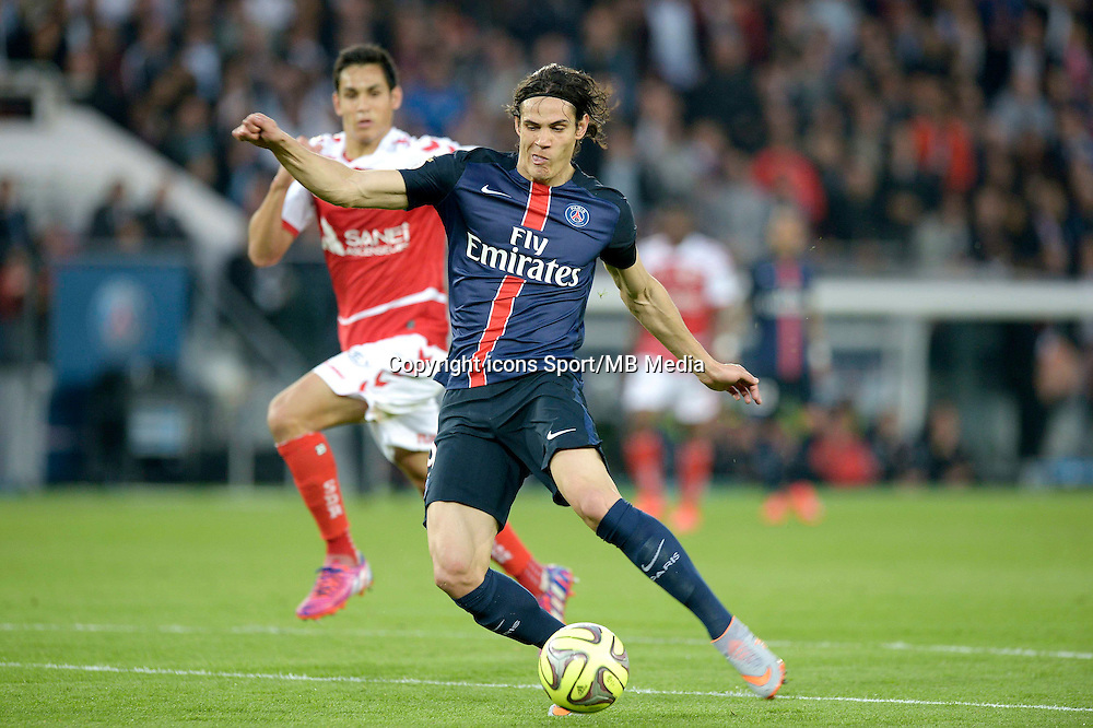 But Edinson Cavani - 23.05.2015 - Paris Saint Germain / Reims - 38e journee Ligue 1<br />Photo : Andre Ferreira / Icon Sport