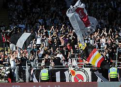 03.04.2011, Stadion der Stadt Linz, Linz, AUT, 1. FBL, LASK Linz vs FC Red Bull Salzburg, im Bild die Fans des Lask (LASK Linz, #), EXPA Pictures © 2011, PhotoCredit: EXPA/ R.Eisenbauer