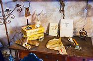 Charms room. Witchery Week 2016. Bargota, Navarre, Spain, Europe.