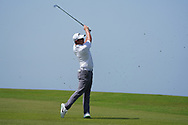 Callum Shinkwin (ENG) on the 9th during Round 3 of the Oman Open 2020 at the Al Mouj Golf Club, Muscat, Oman . 29/02/2020<br /> Picture: Golffile | Thos Caffrey<br /> <br /> <br /> All photo usage must carry mandatory copyright credit (© Golffile | Thos Caffrey)