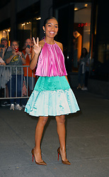September 6, 2019, New York, New York, United States: September 5, 2019 New York City....Yara Shahidi attending The Daily Front Row Fashion Media Awards on September 5, 2019 in New York City  (Credit Image: © Jo Robins/Ace Pictures via ZUMA Press)