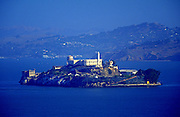 Image of Alcatraz Island in San Francisco Bay, California