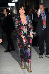 September 9, 2017 - New York, NY, USA - September 8, 2017 New York City..Kris Jenner attending the Daily Front Row's Fashion Media Awards at Four Seasons Hotel New York Downtown on September 8, 2017 in New York City. (Credit Image: © Kristin Callahan/Ace Pictures via ZUMA Press)
