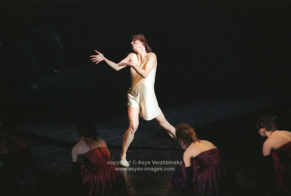 "Maria Alexandrova as Juliet in Bolshoi Ballet's ""Romeo and Juliet"". Music: Serge Prokofiev"