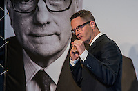 Danish Director Nicolas Winding Refn attends the Opening Ceremony of the 7th Film Festival Lumiere on October 12, 2015 in Lyon, France.