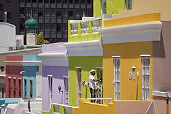 June 3, 2016 - typical coloured homes in the quarter Cape Malay Bo-Kaap, Cape Town, Western Cape, South Africa (Credit Image: © AGF via ZUMA Press)