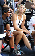 Aug. 24, 2015 - New York, NY, USA - <br /> <br /> Nike NYC Street Tennis Event <br /> <br /> Tennis player Maria Sharapova attending Nike's 'NYC Street Tennis' event <br /> ©Exclusivepix Media