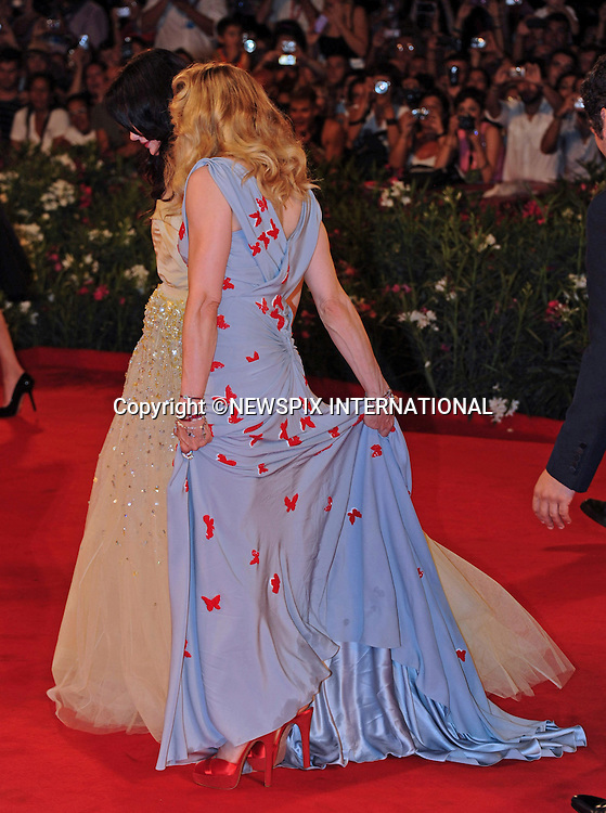"MADONNA.at the 68th Venice Film Festival,Venice, Italy_01/09/2011.Mandatory Credit Photo: ©Massimo/NEWSPIX INTERNATIONAL..**ALL FEES PAYABLE TO: ""NEWSPIX INTERNATIONAL""**..IMMEDIATE CONFIRMATION OF USAGE REQUIRED:.Newspix International, 31 Chinnery Hill, Bishop's Stortford, ENGLAND CM23 3PS.Tel:+441279 324672  ; Fax: +441279656877.Mobile:  07775681153.e-mail: info@newspixinternational.co.uk"