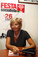 20110823 CONFERENZA STAMPA PSI PRESENTAZIONE FESTA SOCIALISTA 2011