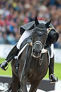 Morgan Barbancon - Painted Black<br /> FEI European Championships Aachen 2015<br /> &copy; DigiShots