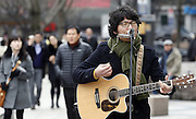 South Korean musician Baekja in Seoul. Photo by Lee Jae-Won (SOUTH KOREA) www.leejaewonpix.com/