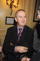 IAN HISLOP at the 2008 Oldie of The year Awards and lunch held at Simpsons in The Strand, London on 11th March 2008.<br /><br />NON EXCLUSIVE - WORLD RIGHTS
